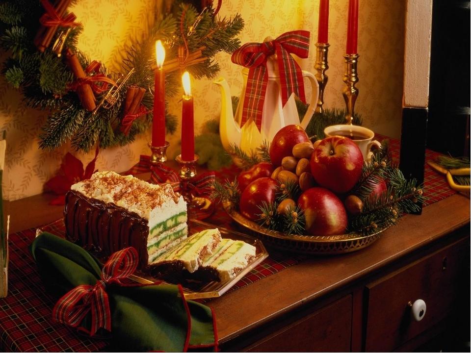 картинки рождественского стола в старину называли хлебосолкой сообщали, что возле