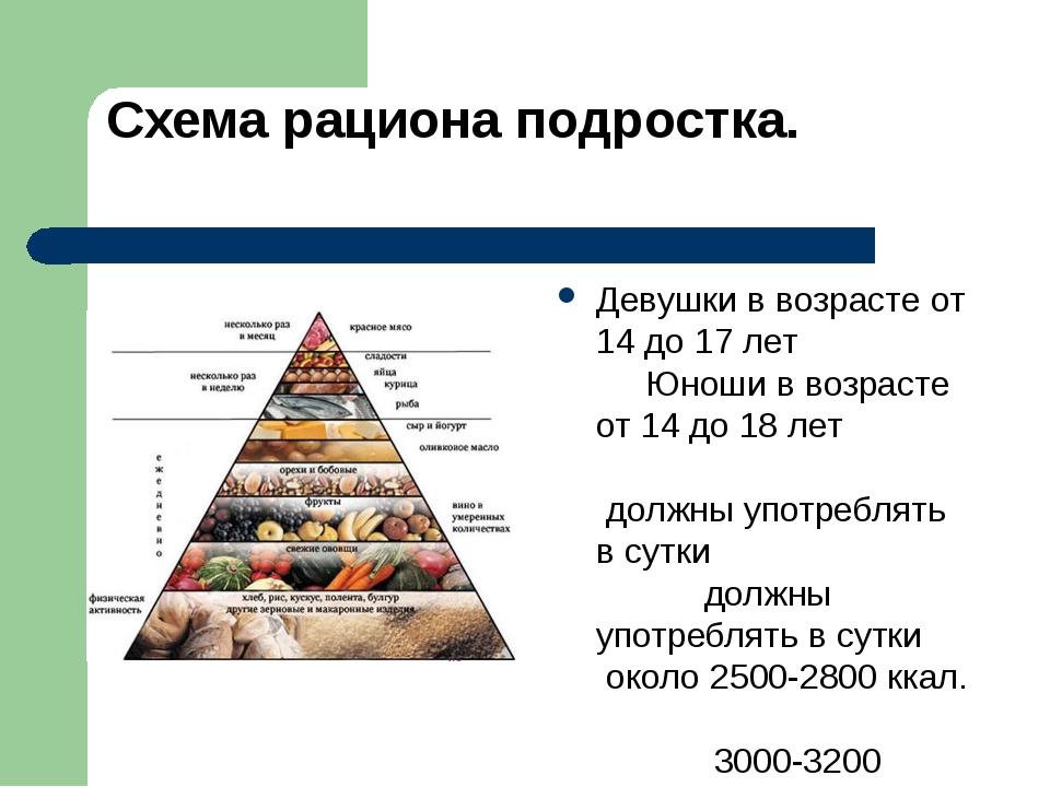 Диета Правильного Питания Для Подростков. Диета для подростков и правильное питание