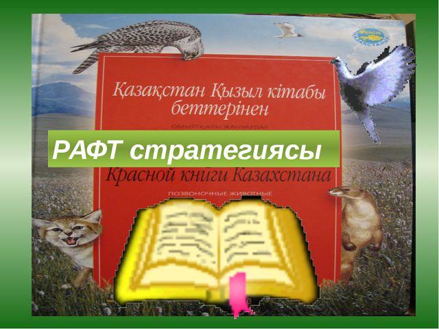 РАФТ стратегиясы