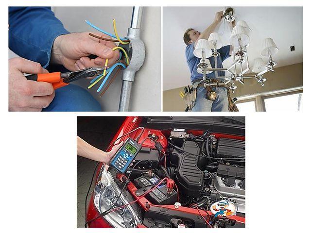 Каждый человек должен обладать минимумом основных навыков по электротехнике,...