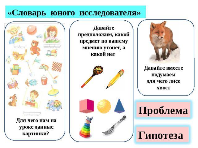 «Словарь юного исследователя» Давайте предположим, какой предмет по вашему м...