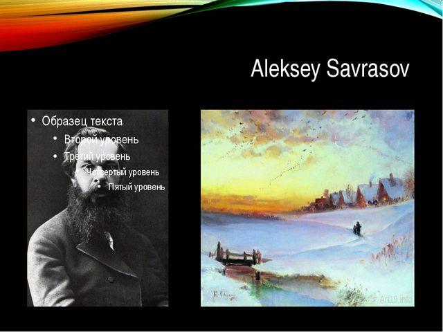 Aleksey Savrasov