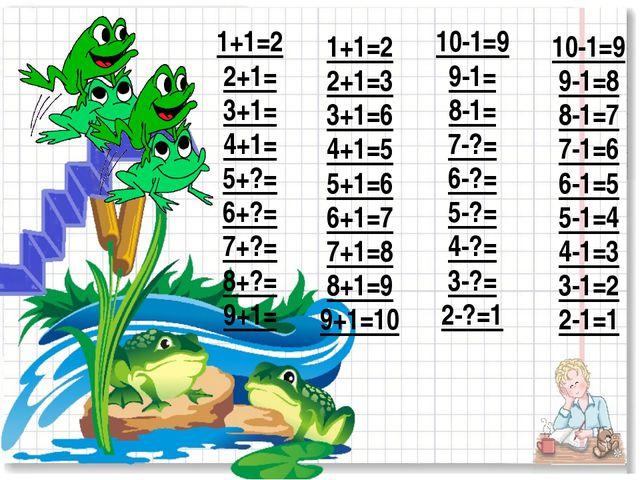 1+1=2 2+1= 3+1= 4+1= 5+?= 6+?= 7+?= 8+?= 9+1= 1+1=2 2+1=3 3+1=6 4+1=5 5+1=6 6...