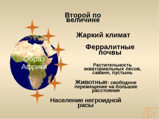 Второй по величине 29,2 млн км² 54,9 млн км² 7,6 млн км² 13,9 млн км² 17, 8 м