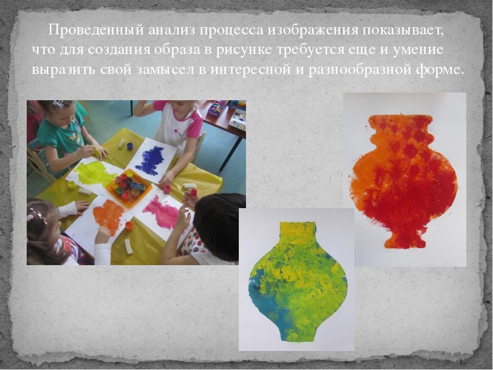 Проведенный анализ процесса изображения показывает, что для создания образа...