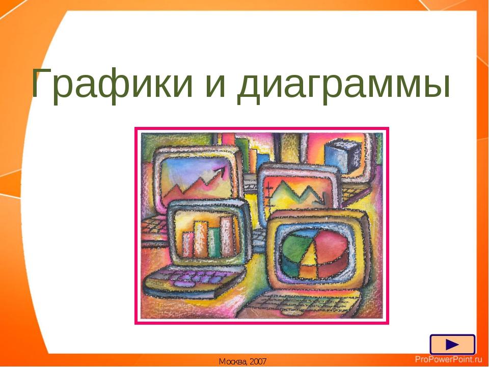 Графики и диаграммы Москва, 2007