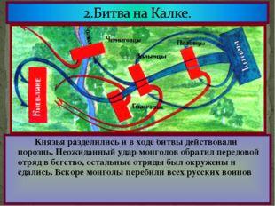Половцы обратились за помощью к русским князьям.Южнорусские князья объединили