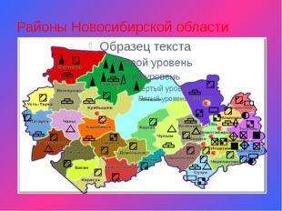 Районы Новосибирской области