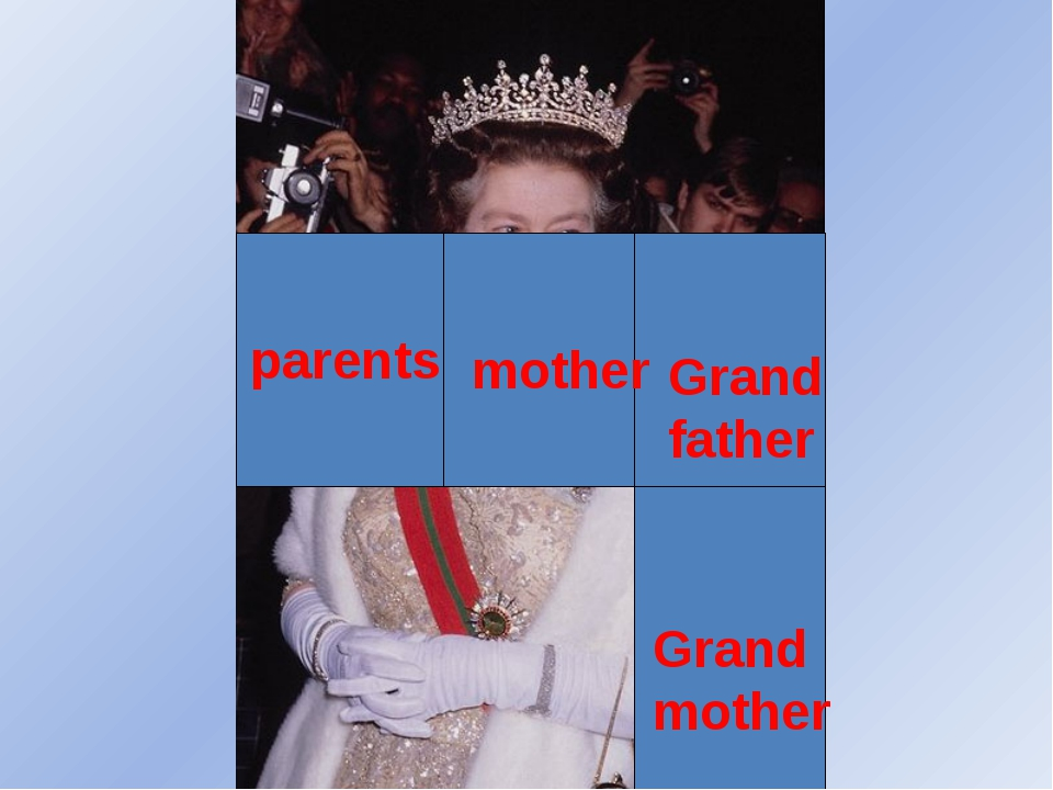 mother parents Grand father Grand mother