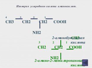 Творческое задание №3. Зная общую формулу аминокислот, составьте формулы алан