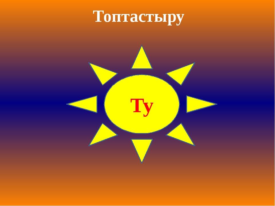 Ту Топтастыру
