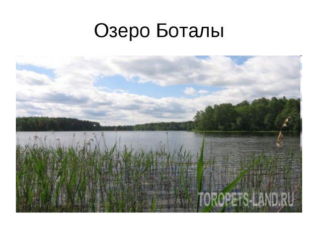 Озеро Боталы