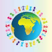 Земля - Мой Группа Детей В клипарты - ClipartLogo.com