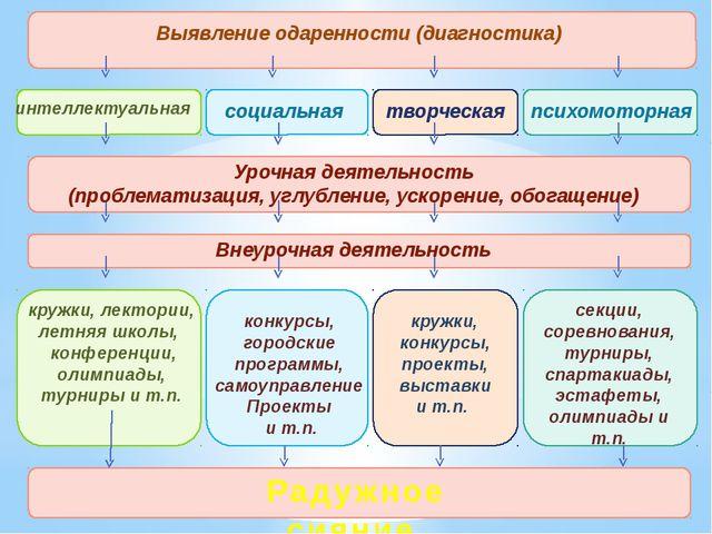 Выявление одаренности (диагностика) интеллектуальная социальная творческая п...