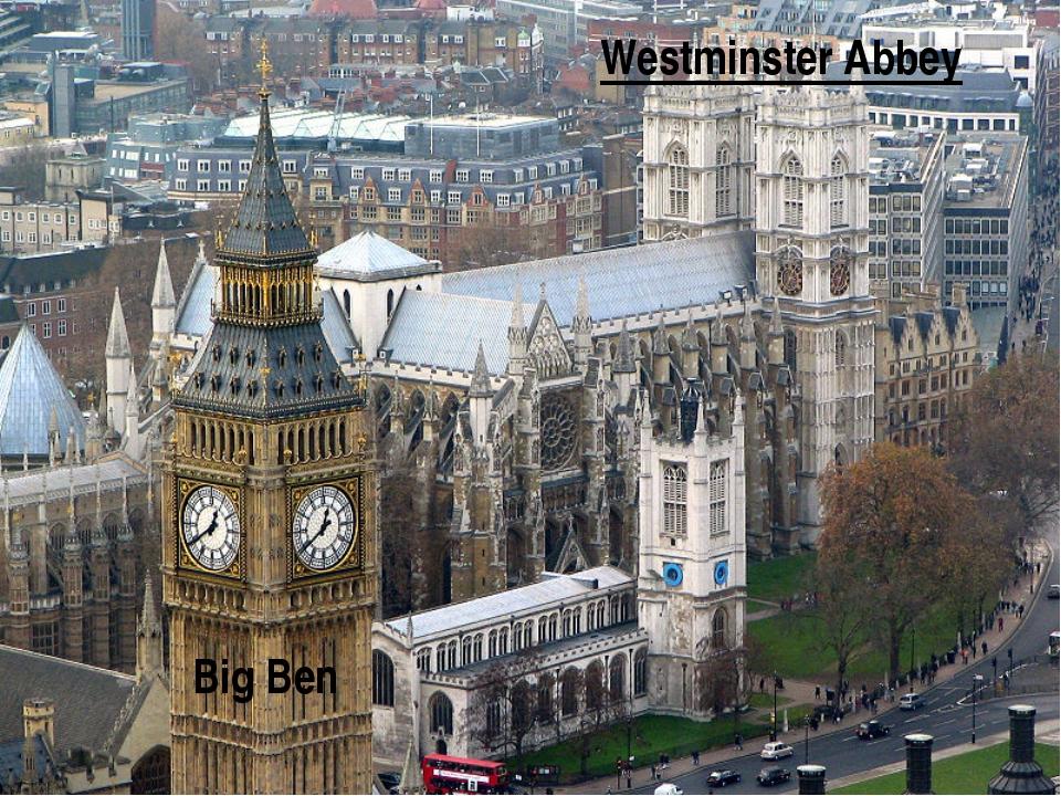 Westminster Abbey Big Ben