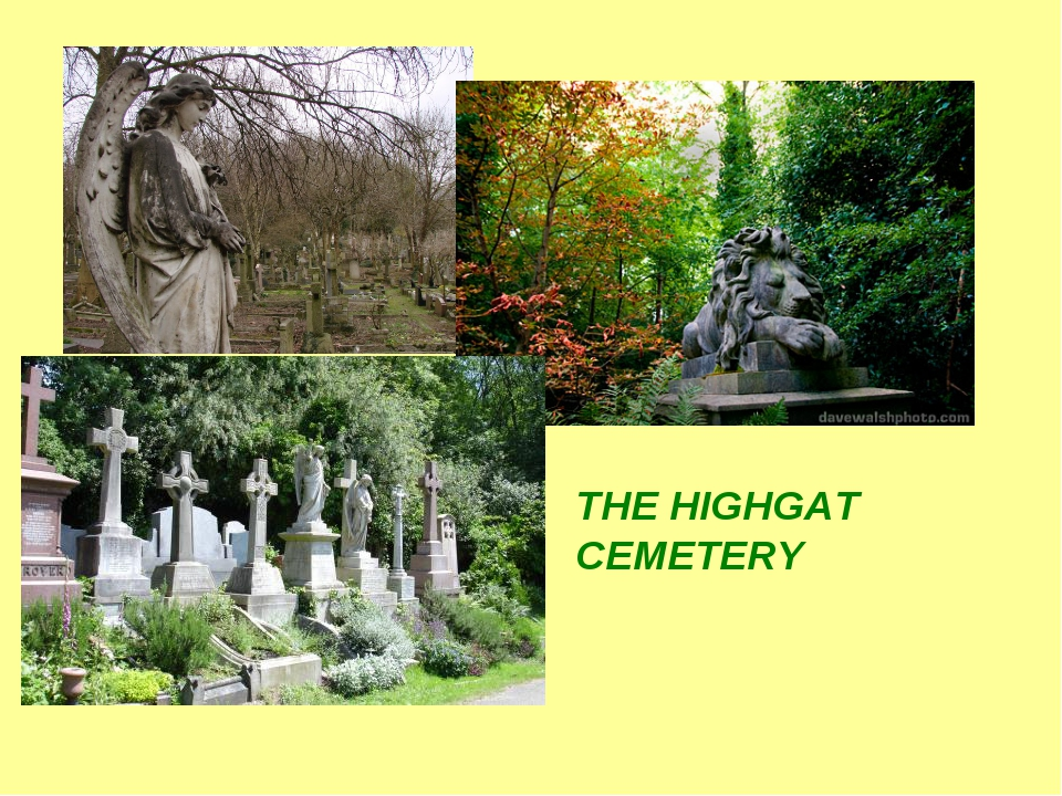 THE HIGHGAT CEMETERY