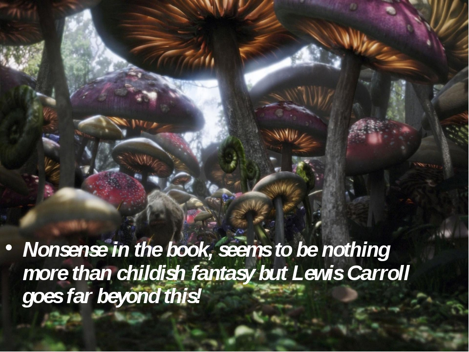 Nonsense in the book, seems to be nothing more than childish fantasy but Lewi...