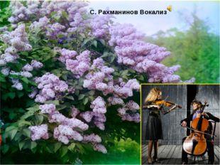 С. Рахманинов Вокализ
