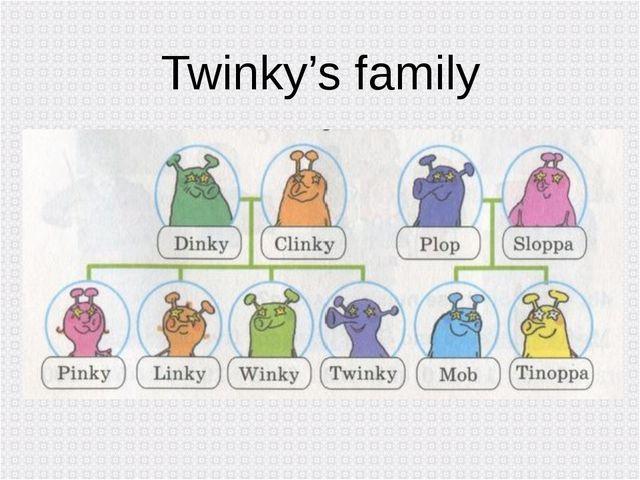 Twinky's family