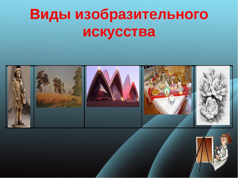 Виды изобразительного искусства