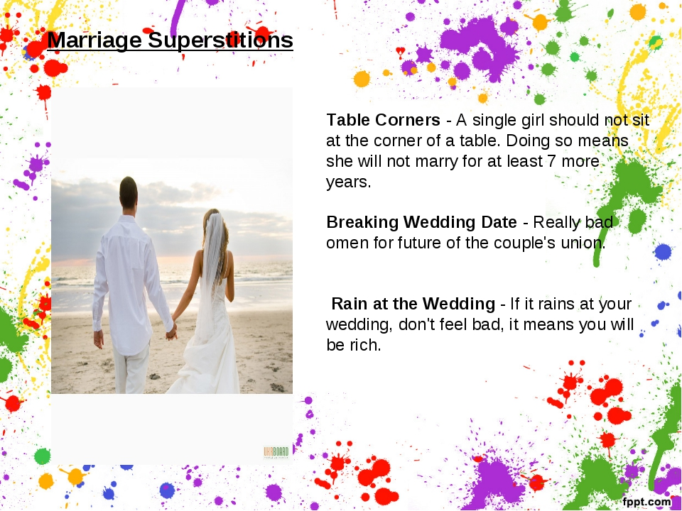Table Corners - A single girl should not sit at the corner of a table. Doing...