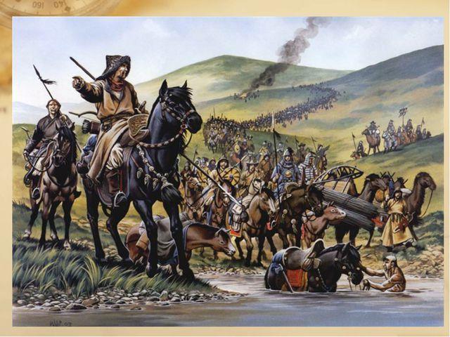 Кочевые племена Азии и Китай Гунны представляли серьёзную угрозу для Китая, п...