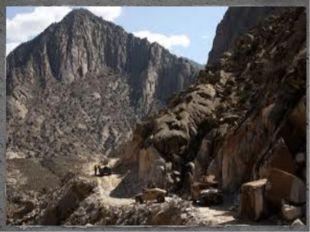 Около 75% территории Афганистана занимают горные и возвышенные районы систем