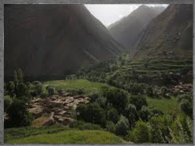 Горные районы Афганистана достаточно разнообразны по своим природным услови...