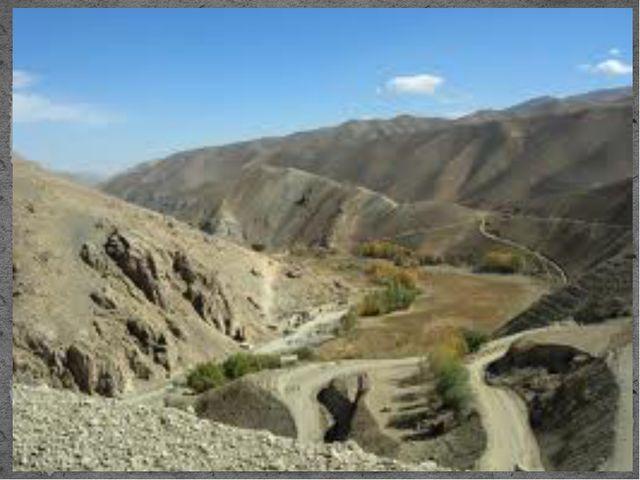 В Афганистане преобладают ограниченные природные запасы пресной воды; недост...
