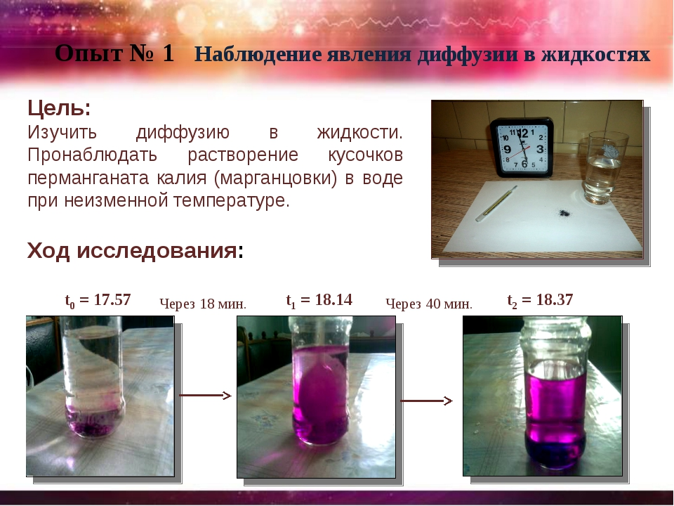 experiment 5 gas diffusion