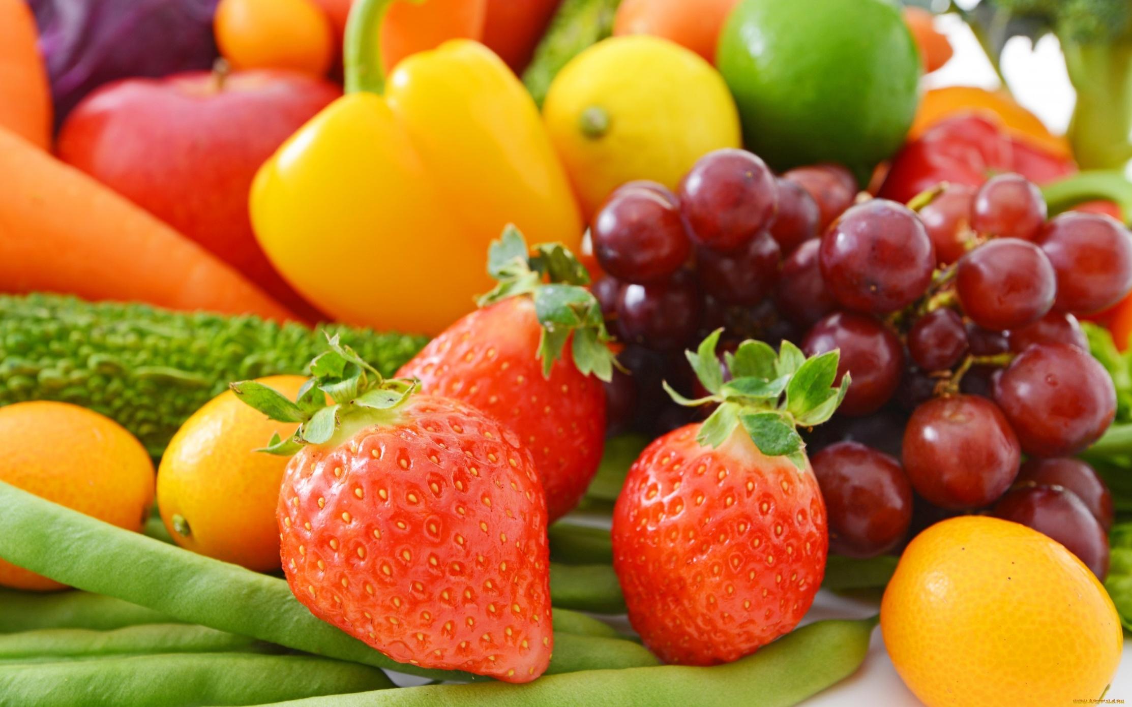 wallpaper fresh fruits berries - photo #4