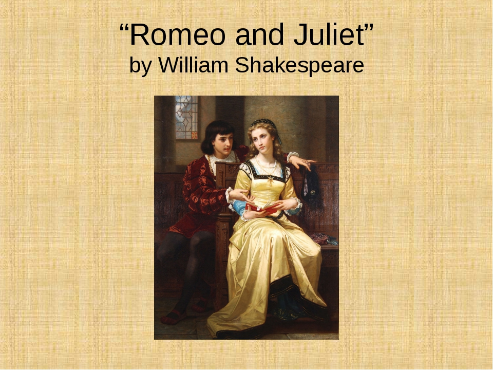 analyzing romeo and juliet by william shakespeare Welcome to myshakespeare's romeo and juliet, a multimedia edition of the play for the 21st-century student complete audio recordings emphasize clarity and comprehension our contemporary translation makes shakespeare's language more approachable.