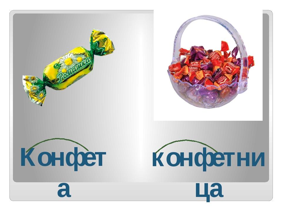 Конфета конфетница