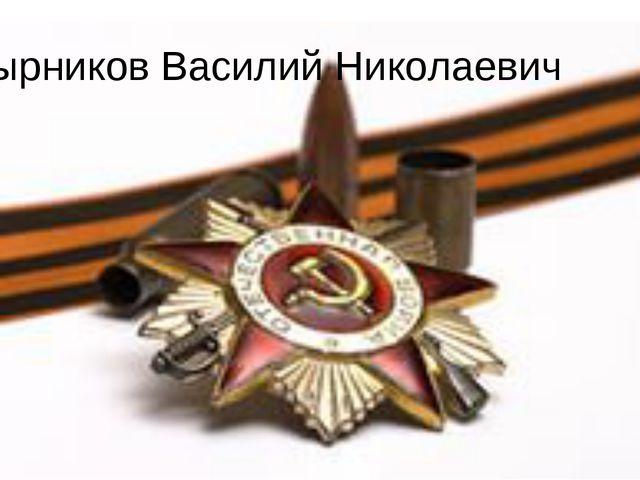 Пустырников Василий Николаевич