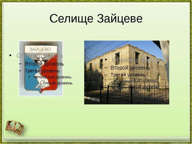 Селище Зайцеве
