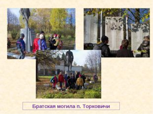 Братская могила п. Торковичи