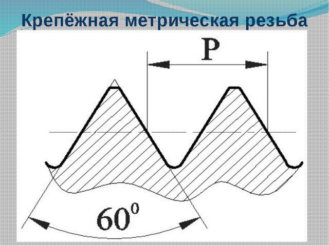 Крепёжная метрическая резьба