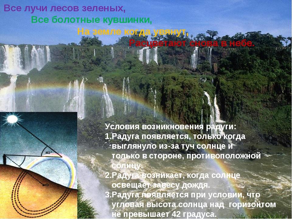 Все лучи лесов зеленых, Все болотные кувшинки, На земле когда увянут, Расцве...