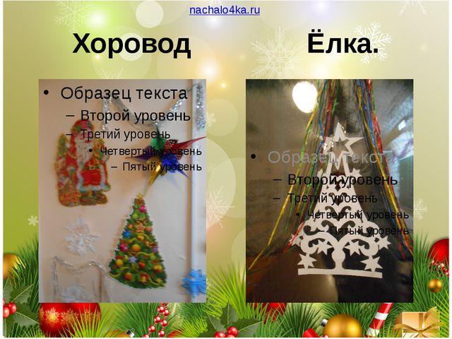 nachalo4ka.ru Хоровод Ёлка.