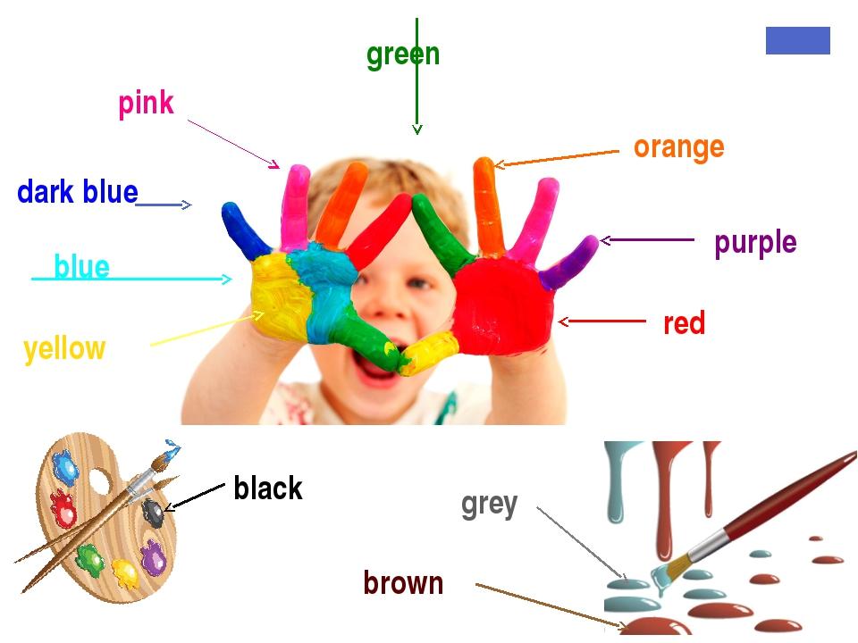 pink orange dark blue purple red blue yellow white grey brown black green white