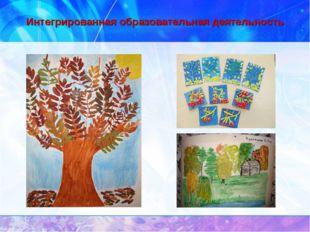 Интегрированная образовательная деятельность