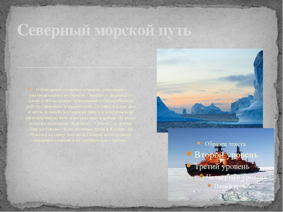 Наблюдения полярных станций, равномерно распределенных по берегам Северного...
