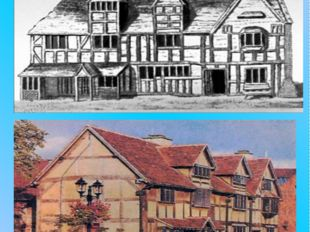 Mary Arden's house, 3 miles northwest of Stratford. Here lived Shakespeare's