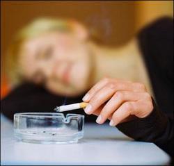 Курение успокаивает нервную систему - это только миф