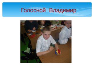 Голосной Владимир