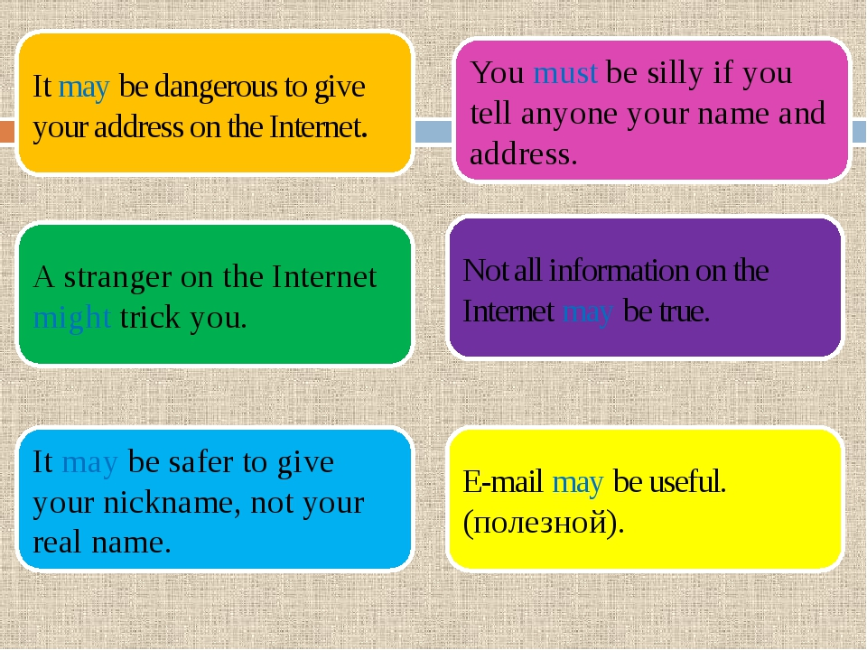 It may be dangerous to give your address on the Internet. A stranger on the I...