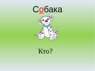 Собака Кто?