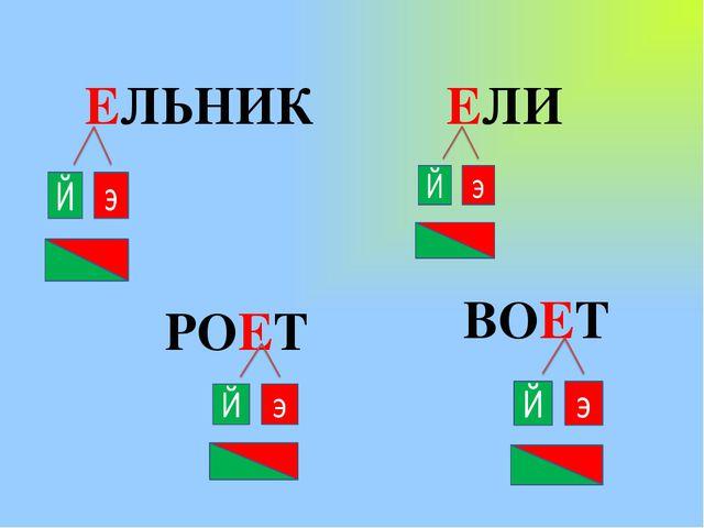 ЕЛЬНИК ЕЛИ РОЕТ ВОЕТ