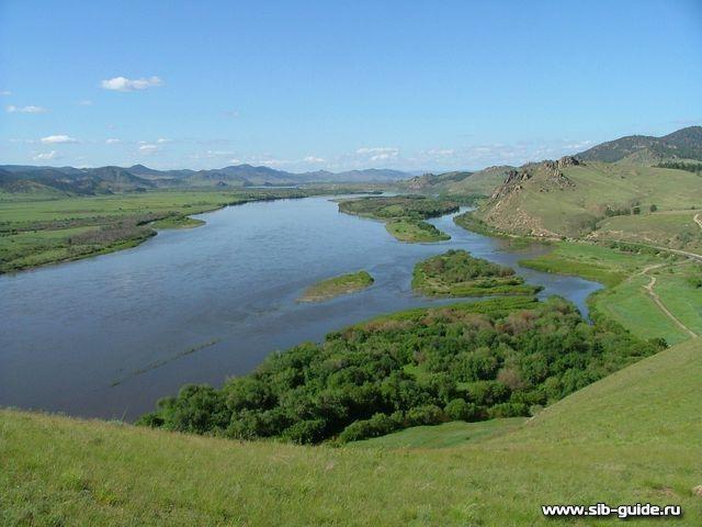Сиб-Гид: Просмотр фото: Река Селенга