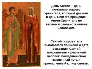 Святой покровитель выбирается по имени и дате рождения. Святой покровитель –